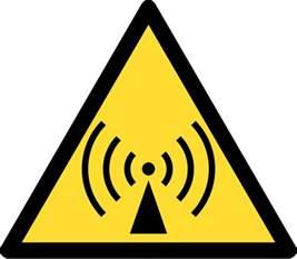 Radio Waves Size File Radio Waves Hazard Symbol Svg Wikimedia Commons
