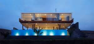 What Is A Contemporary House this contemporary beach house near lima peru is a young couple s
