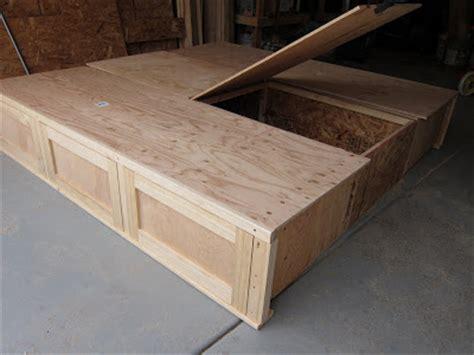 divas diy king size storage bed part