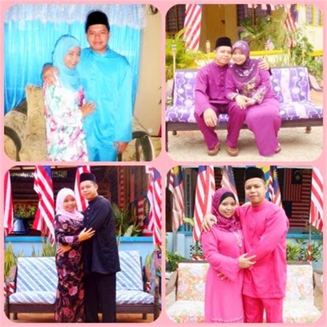 Butik Baju Raya Sedondon Suami Isteri baju raya sedondon suami isteri adieyza