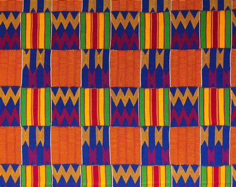 pattern fabric meaning kente heart language