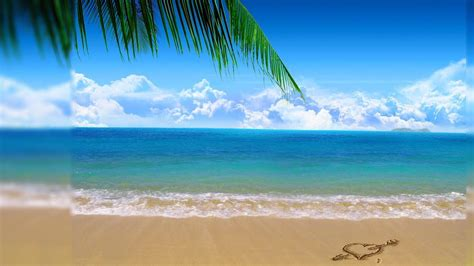 desktop themes beaches beach backgrounds for desktop wallpaper cave