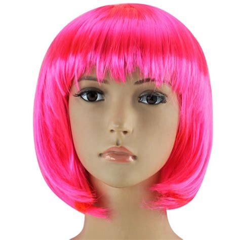 Costume Wig womens bob wig fancy dress wigs pop