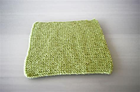 knit a square garter stitch patchwork square cottontail design