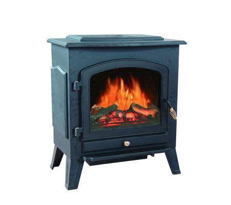 Most Realistic Gas Fireplace Insert by Shilo Electric Fireplace 750w 1500w Heater Qvc