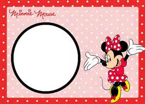 minnie mouse card templates minnie mouse free printable invitation templates