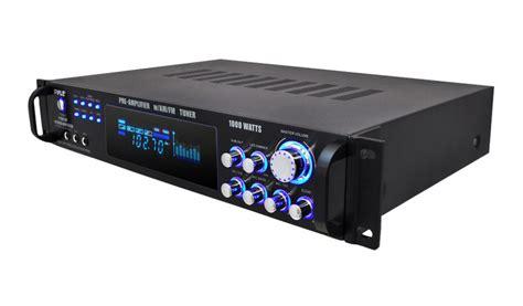Lifier Fm 1000 Watt Pyle P1001at 1000 Watts Hybrid Lifier With Am Fm Tuner