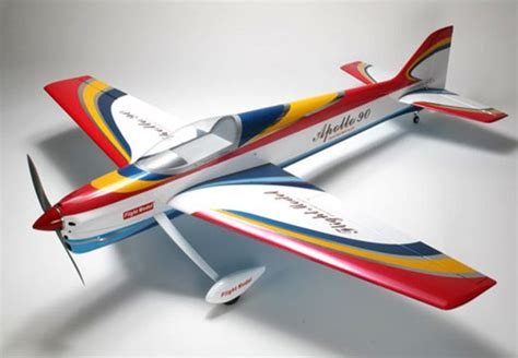 pattern airplanes rc apollo 90 f3a pattern flying balsa gas arf r c airplane