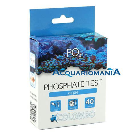test acquario marino tropic marin test po4 fosfati dolce e marino