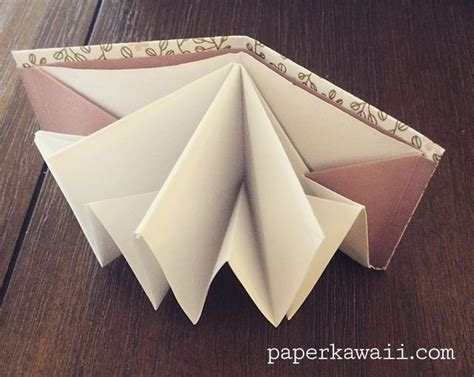 Origami Pop Up Book - origami popup book tutorial paper kawaii