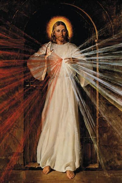 sunday  easter dedicated  message  divine mercy arkansas catholic april