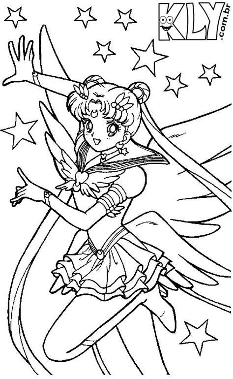 Sailor Moon – Desenhos para Colorir - Desenhos Para Colorir