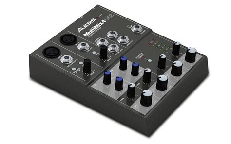 Mixer Audio 4 Channel Murah alesis multimix4usb 4 channel mixer with usb digital aud