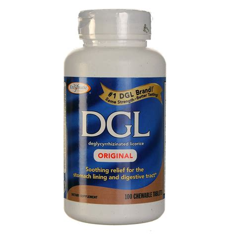 Dgl Detox by Enzymatic Therapy Dgl 100 Chewable Tablets Evitamins India