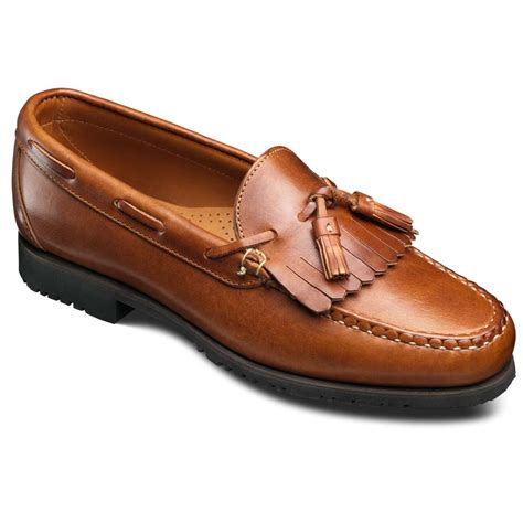 nashua premium handsewn casual slip on loafer s