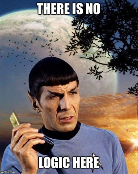 spock phone imgflip
