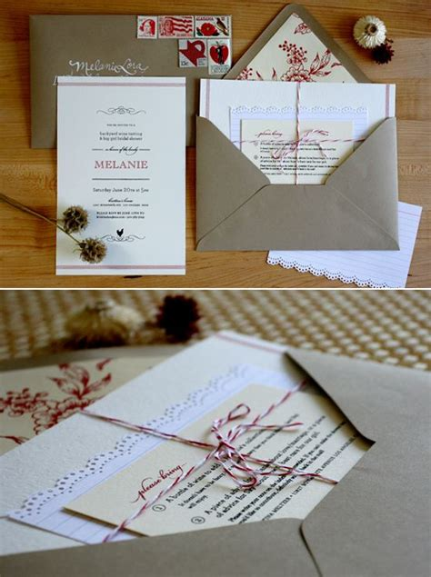 bakers twine wedding invitations tie it bakers twine images twi with kraft rustic wedding invitations yourweek be2456eca25e