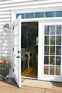 Out Swing Exterior Door The Doors From The Outside From Thrifty Decor