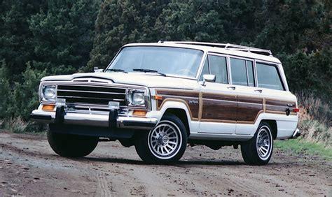 jeep cherokee 1980 1985 1991 jeep grand wagoneer usautohistory