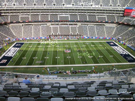 metlife stadium section 334 metlife stadium section 339 seat views seatgeek