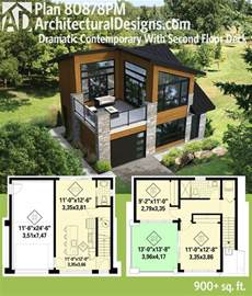 house design sles layout plan 80878pm dramatic contemporary with second floor deck