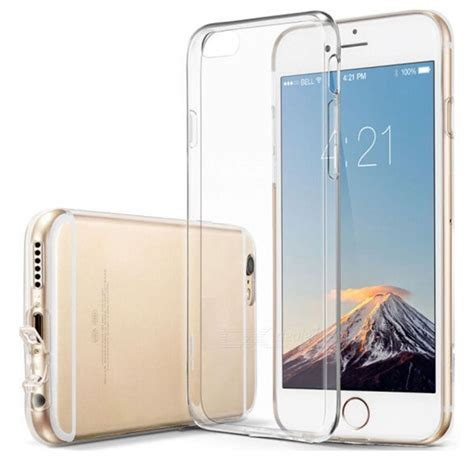 Softcase Silikon Tpu Ultrathin Zenfone 6 naxtop tpu ultra thin soft for iphone 6s iphone 6 transparent free shipping dealextreme