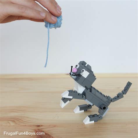 lego cats building instructions