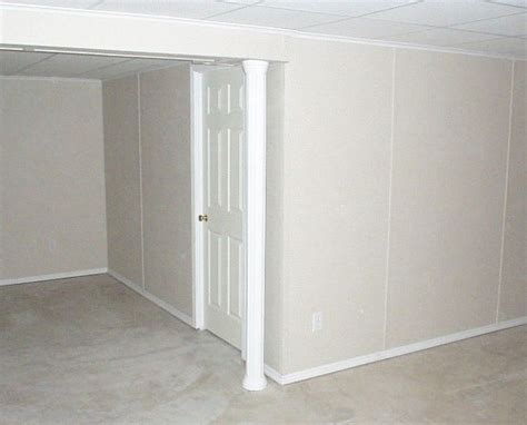 Mobile Home Interior Wall Paneling Basement Wall System Details Total Basement Finishing