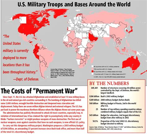 bases in usa map the worldwide network of us bases the global