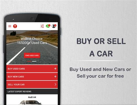 Used Car Apps For Android by Cartrade New Cars Used Cars Android Apps On Play