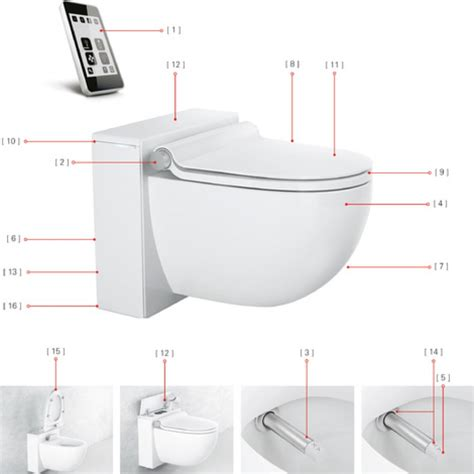 Grohe Bidet Toilet by Grohe Sensia Igs Toilet With Bidet Function Tooaleta