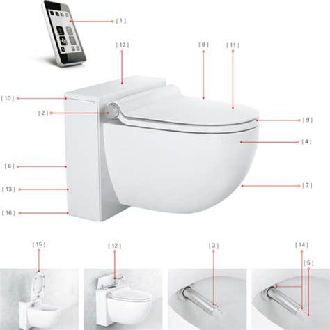 grohe bidet toilet grohe sensia igs toilet with bidet function tooaleta