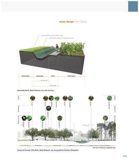 Landscape Arch Elevation Asla 2012 Professional Awards Digital Drawing For