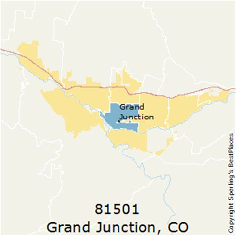 zip code map grand junction co best places to live in grand junction zip 81501 colorado