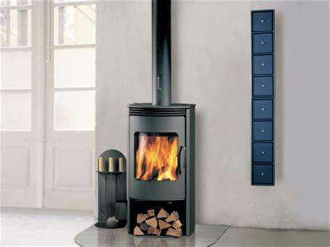 small wood fireplace