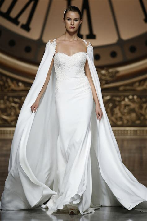 wedding dress cape trend alert the 20 most stunning bridal capelets bridal