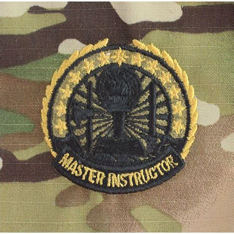 Army Rack Builder With Badges by Multicam Scorpion Army Occupational Instructor Ba Usamm