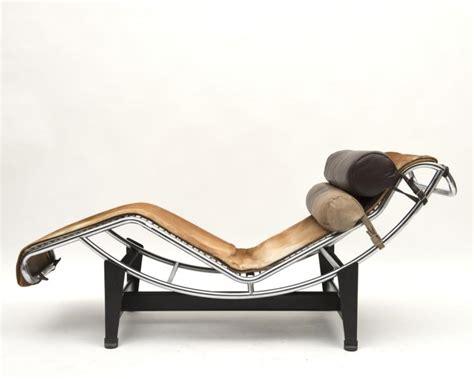 chaise longue le corbusier vache le corbusier perriand chaise longue lc4