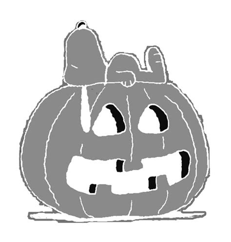 snoopy pumpkin template playbestonlinegames