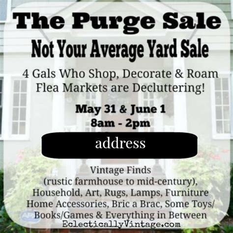 Where To Advertise Garage Sales by How To Throw A Killer Yard Sale 15 Tips For Success