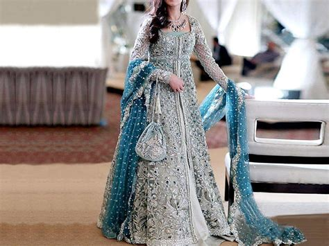 Best Bridal Dresses Color Combination 2019 in Pakistan