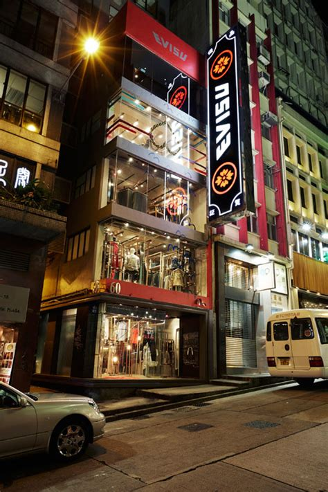 evisu hong kong concept store opening evisu 香港開設全球首間概念店 a day magazine