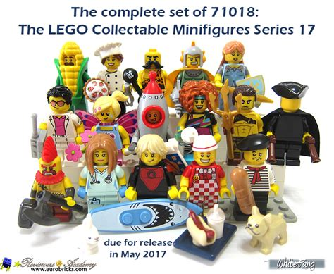 Lego Minifigures Series 17 71018 review 71018 lego collectable minifigures series 17