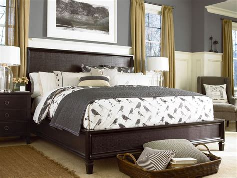 bedrooms and more universal furniture summer hill midnight woven bed