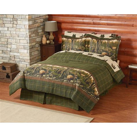 mountain bedding sets rocky mountain elk complete bedding set 655469