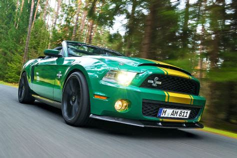 ps ford mustang shelby gt  super snake im test autobildde