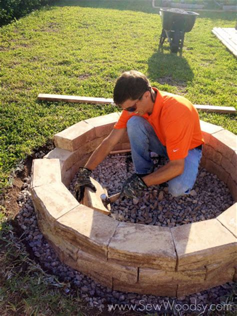 how to build an outdoor pit how to build an outdoor pit hometalk