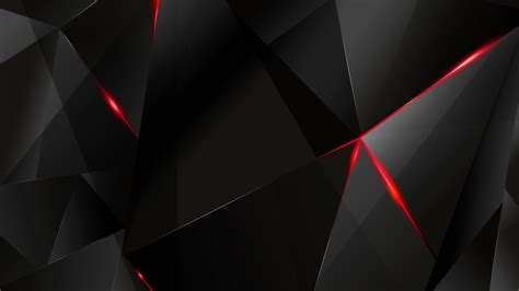 wallpaper abstract polygon wallpapers red abstract polygons black bg re by