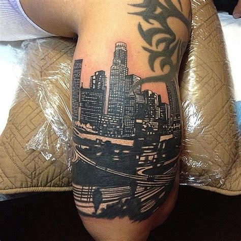 los angeles tattoos los angeles reppin la modern