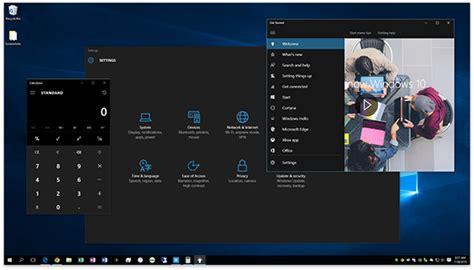 theme windows 10 transparent activer le th 232 me sombre sous windows 10